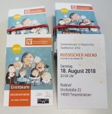 Eintrittskarten Sommertheater