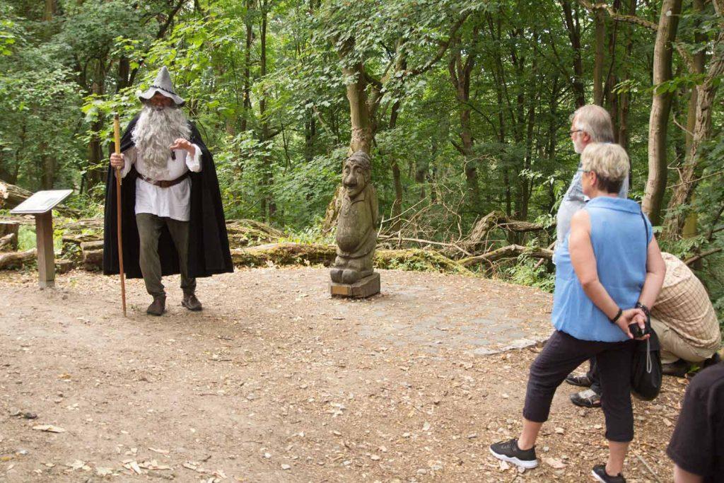 Ekkehard der Barde, Burg Rabenstein, Lebendige Burgführung, Fläming