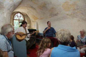 Ekkehard der Barde, Ralf der Rabe, Burg Rabenstein, Lebendige Burgführung, Fläming
