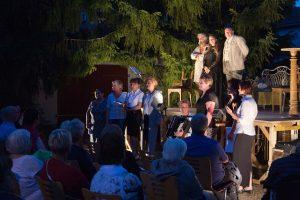 Russischer Abend, Treuenbrietzen, theater 89, Tschechow, Historische Stadtkerne, Frauenchor Raduga, Altes Lager