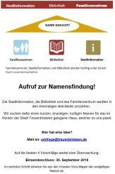 Wir suchen einen Namen für den ehemaligen Aldi in Treuenbrietzen.