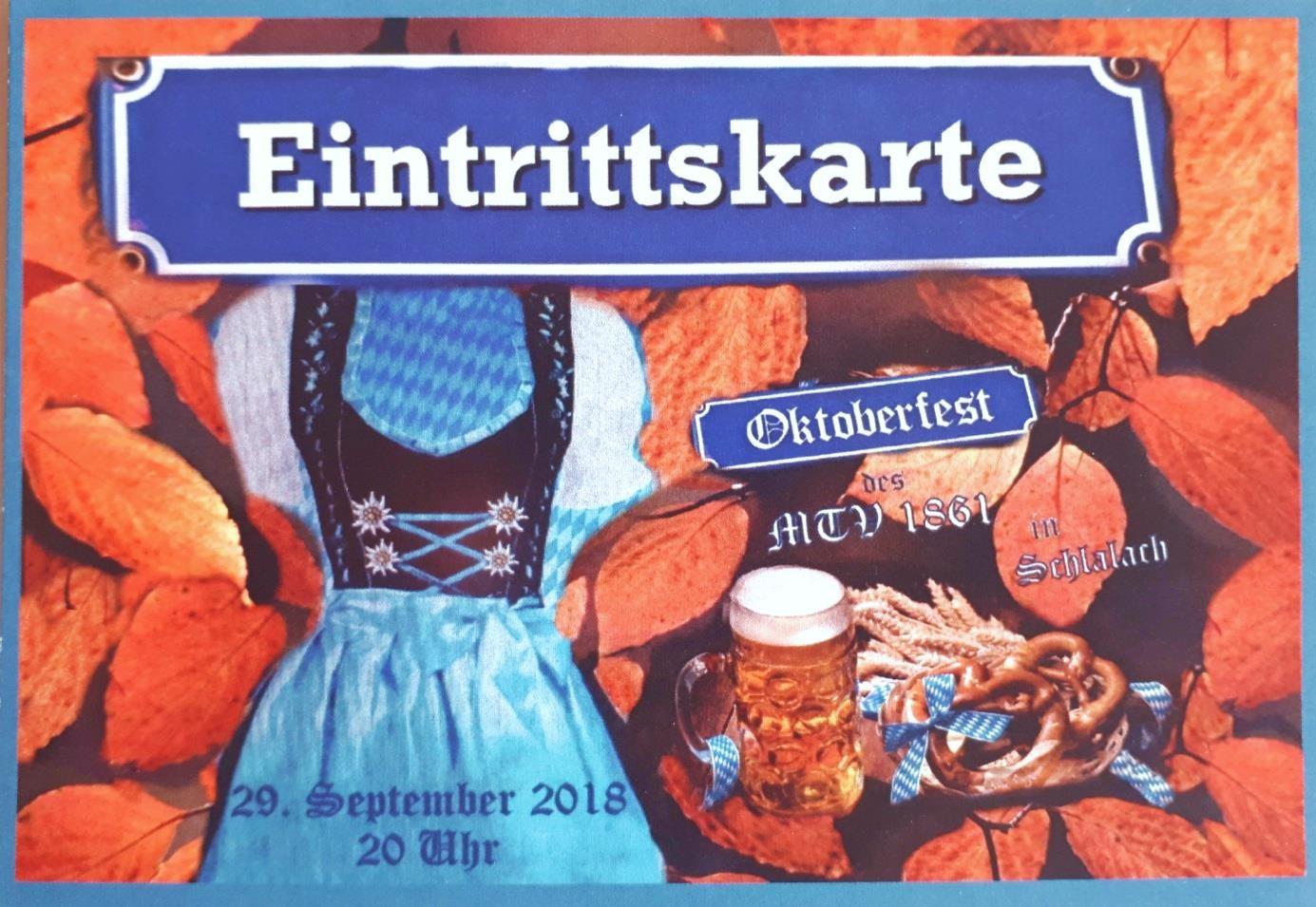 Oktoberfest Schlalach