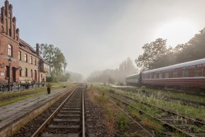 Bahnhof Rehagen, Schlafwagenhotel, FlämingSchmiede, Fläming