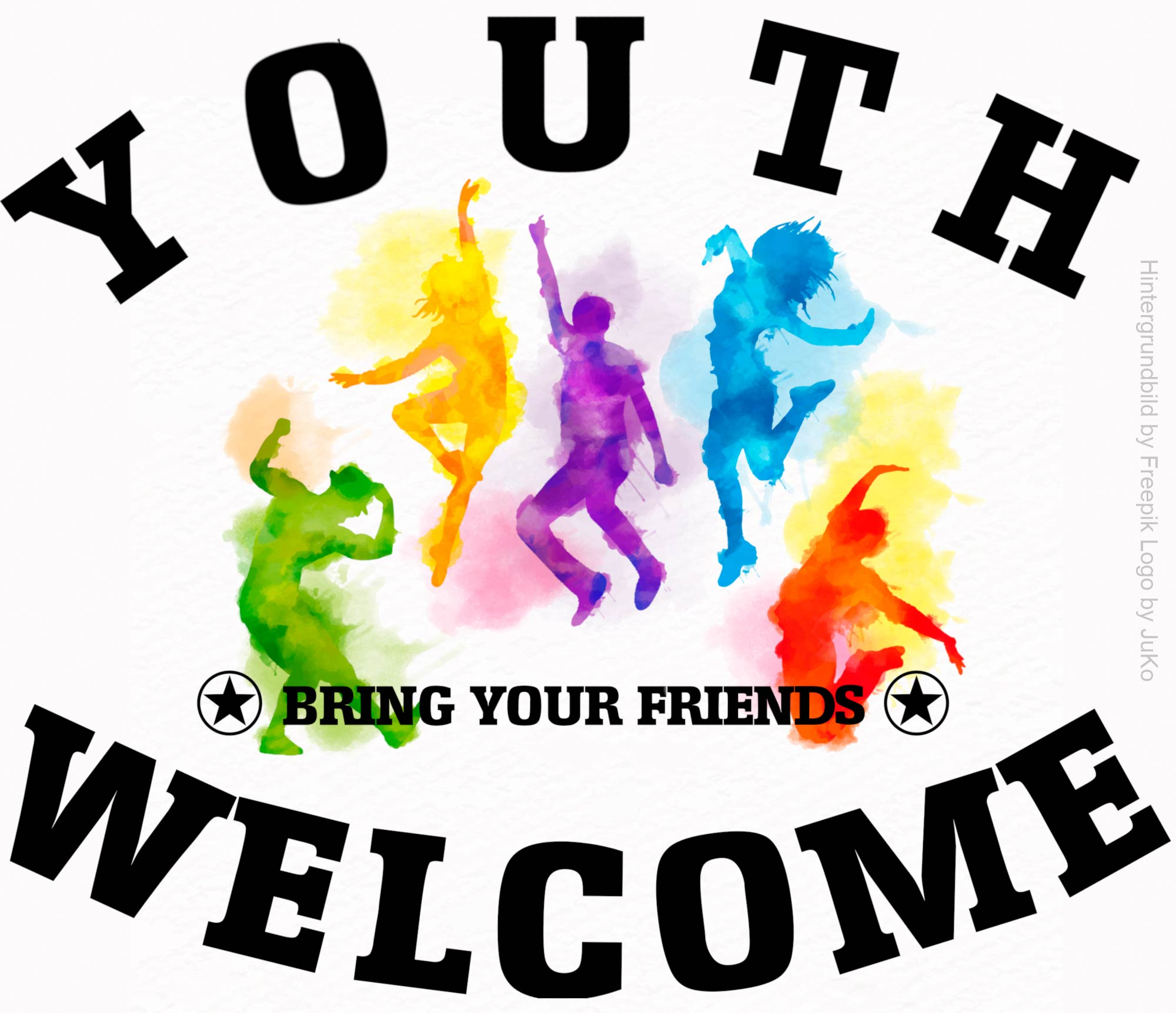 youth welcome logo