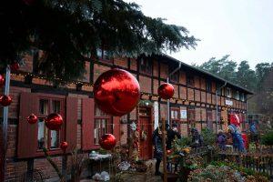 Museumsdorf Baruther Glashütte, Weihnachtsmarkt 2015, TV Flaeming, F Raab