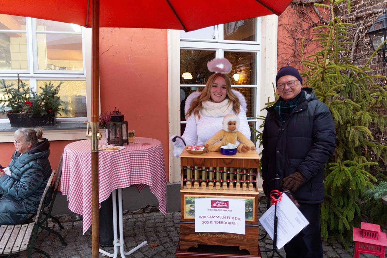 Weihnachtsmarkt, Lühnsdorf, Alter Schmiede, SOS-Kinderdörfer