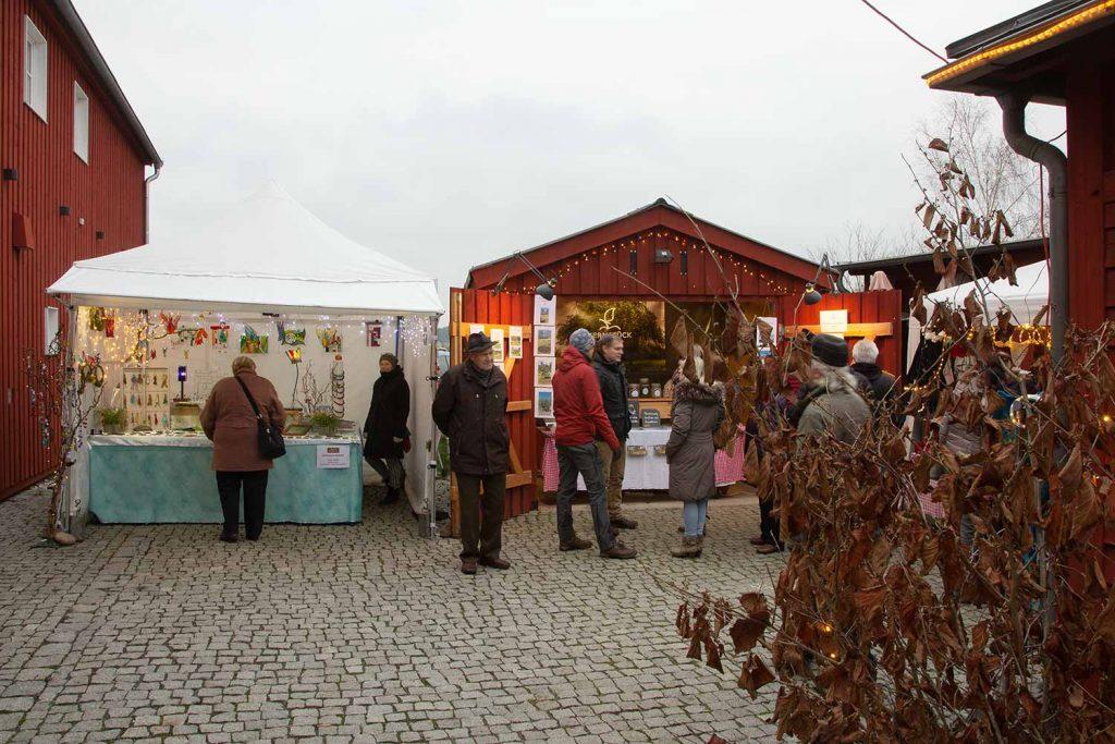 Weihnachtsmarkt, Lühnsdorf, Alter Schmiede