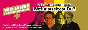 Potsdam-Mittelmark: Festakt zu 100 Jahren Frauenwahlrecht @ Seminarhotel Paulinen Hof