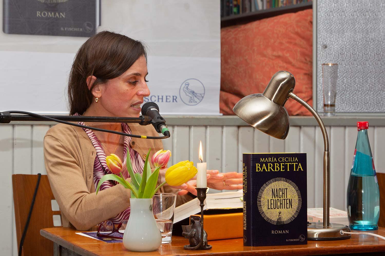 María Cecilia Barbetta, Fläming Bibliothek, Flämingbibliothek