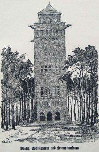 Richard Muth, Beelitz, Wasserturm
