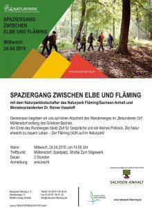 Spaziergang im Naturpark: Vom Eise befreit sind Strom und Bäche (Johann Wolfgang von Goethe) @ Parkplatz am Spielplatz in der Straße Zum Sägewerk | Coswig (Anhalt) | Sachsen-Anhalt | Deutschland