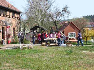 Raben, Naturpark Hoher Fläming, Naturparkzentrum
