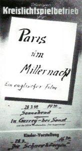 Alter Film im Weißen Raben @ Zum Weißen Raben | Rabenstein/Fläming | Brandenburg | Deutschland