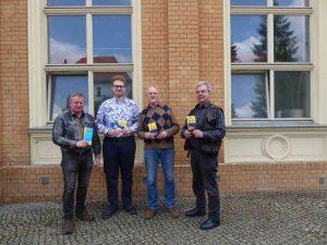 Frank Habdank, Tim Kehrwieder, Klaus-Üeter Klenke, Bernd Hölder