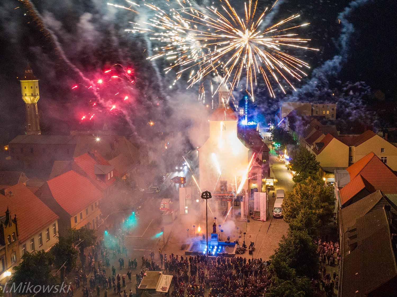 Sabinchenfest, Treuenbrietzen, Feuerwerk