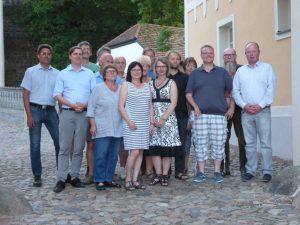 die neue Gemeindevertretung Wiesenburg