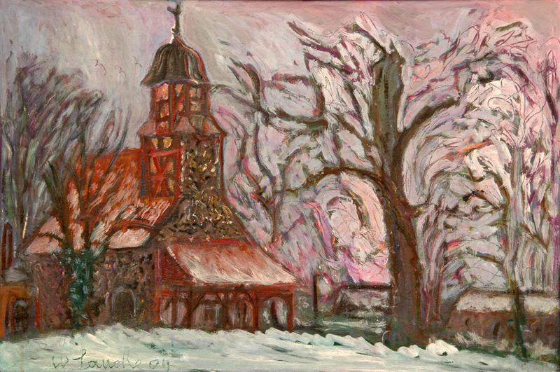 Kirche Zixdorf, Walter Lauche