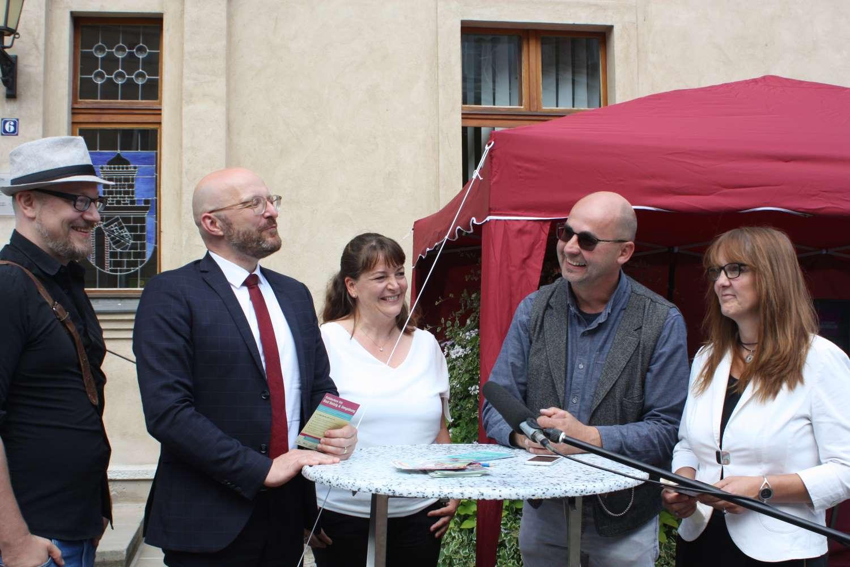 Bad Belzig App, Philipp Wilimzig, Thomas Kralinski, Silke Kühlewind, Roland Leisegang, Kathrin Lange
