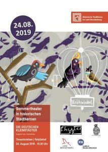 Sommertheater in Treuenbrietzen - Die Deutschen Kleinstädter von August von Kotzebue @ Rat(d)shof Treuenbrietzen