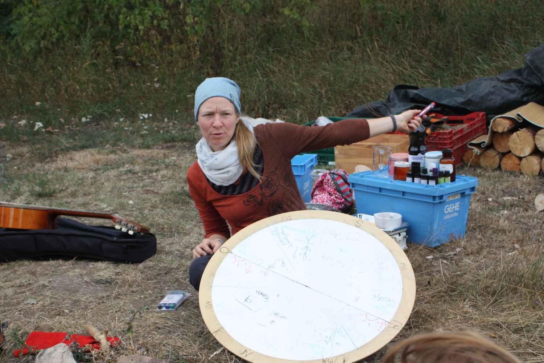 Wildnisschule Hoher Fläming, Balsam kochen