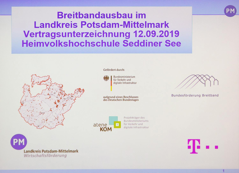 Breitband ,Potsdam-Mittelmark
