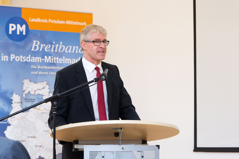 Alexander Vogler, Telekom, Breitband ,Potsdam-Mittelmark