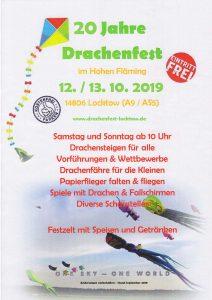 20. Fest der Drachen- und Windspiele im Hohen Fläming @ Flugplatz Locktow | Planetal | Brandenburg | Deutschland