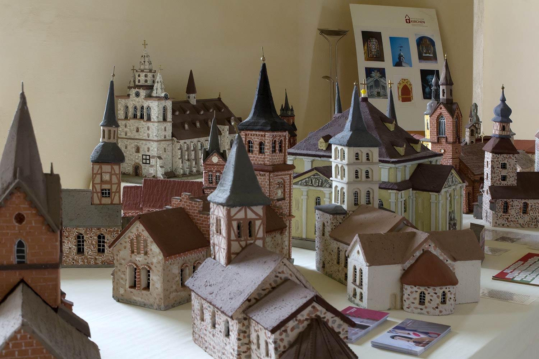 Dorfkirchenmuseum, Garitz
