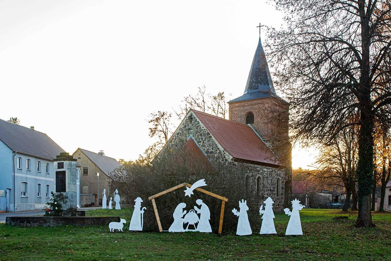 Bernd Koltzenburg, Kirche Haseloff