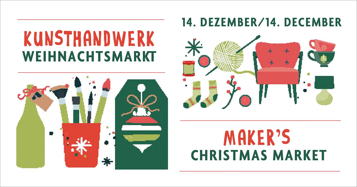Makers-Weihnachtsmarkt, Klein Glien, Coconat