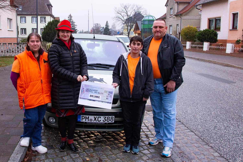 Tiertafel Bad Belzig, Anke Domscheidt-Berg, Die Linke