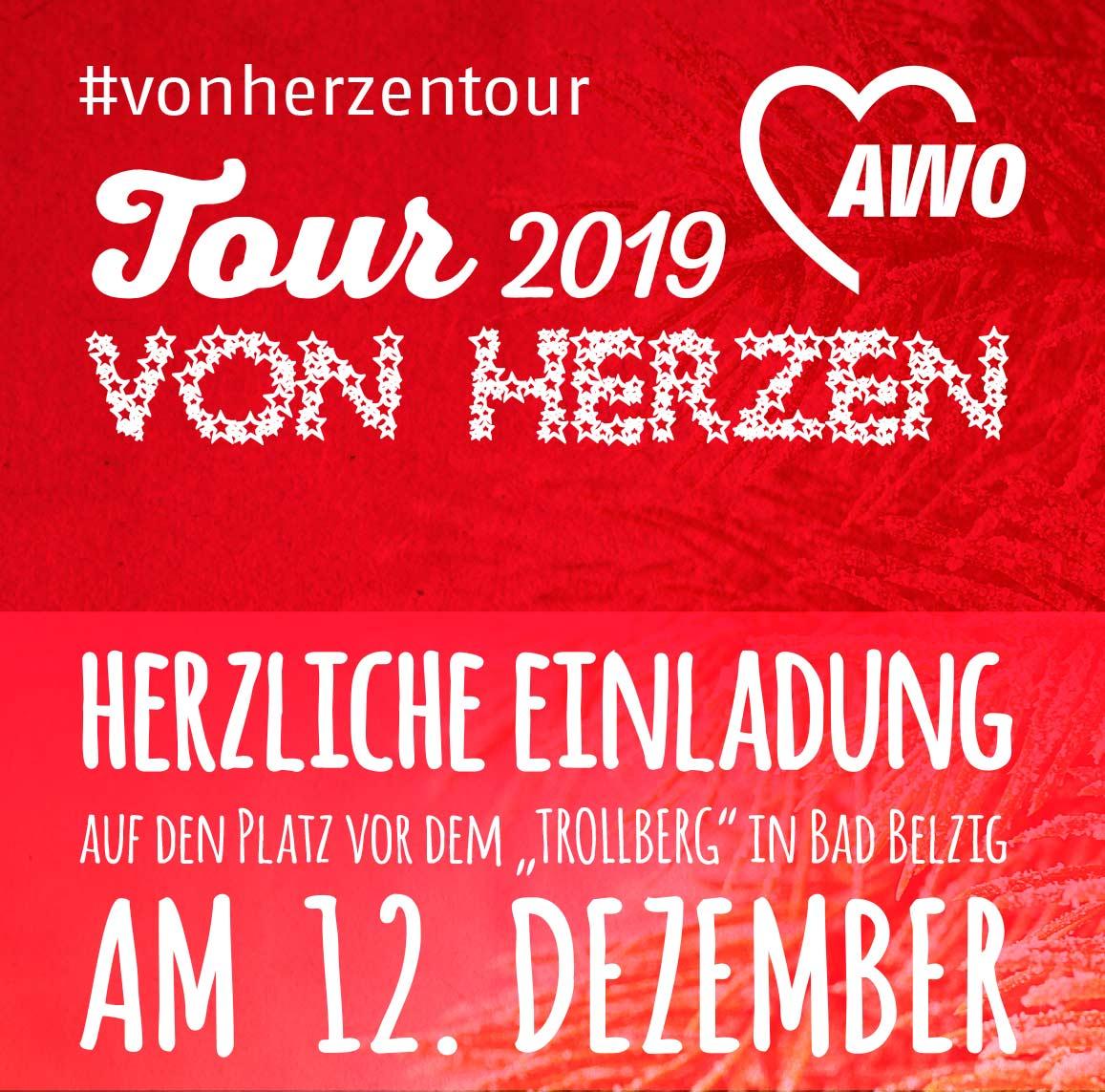 Von-Herzen-Tour, AWO, Bad Belzig