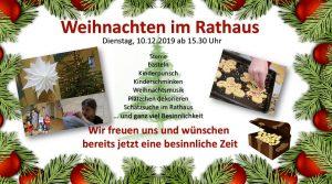 Kinderschminken, Basteln, Plätzchen und Musik, Rathausführung mit Schatzsuche @ Rathaus Niemegk | Niemegk | Brandenburg | Deutschland