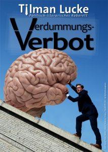 Verdummungsverbot - Kabarett mit Tilman Lucke @ KKW KleinKunstWerk Bad Belzig | Bad Belzig | Brandenburg | Deutschland