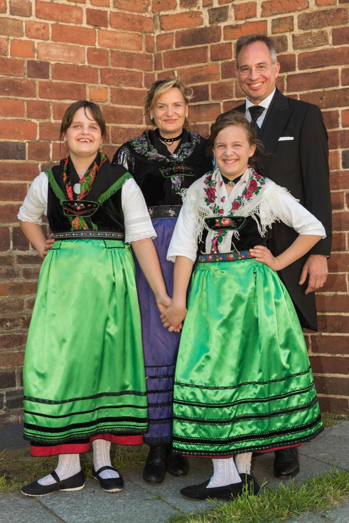 Doerte Breidenbach mit Familie (c) Frank Knorr