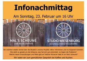Infonachmittag Mal's Scheune @ Mal's Scheune | Wiesenburg/Mark | Brandenburg | Deutschland