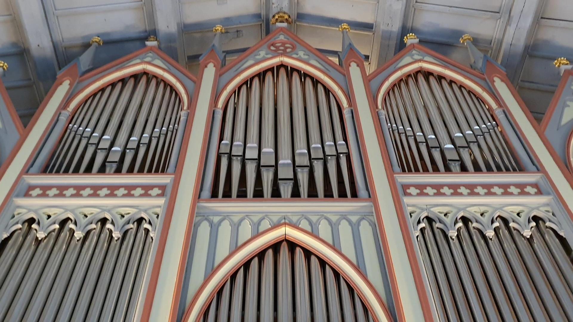 Orgel Niemegk Prospekt