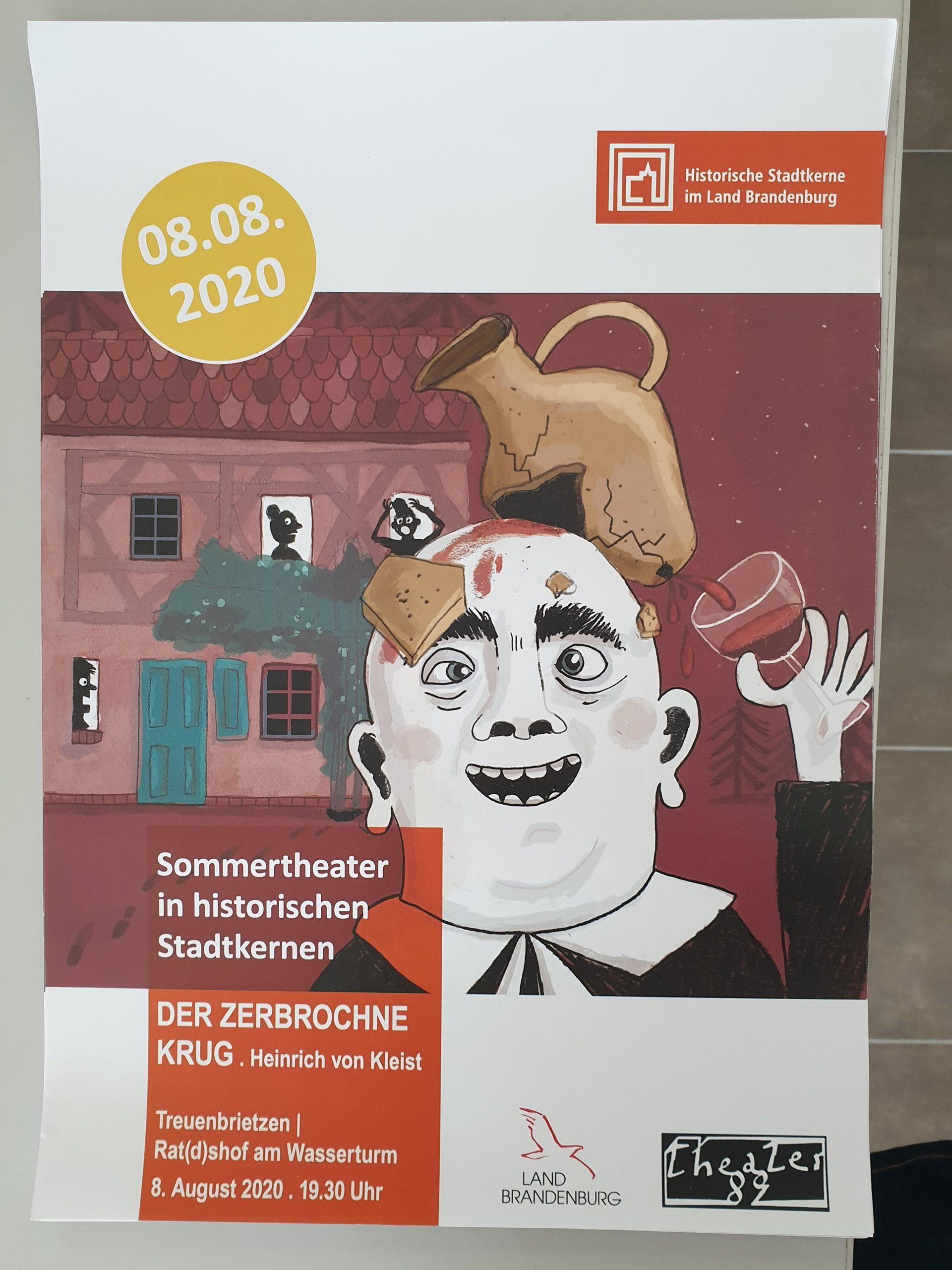 Plakat Sommertheater 2020