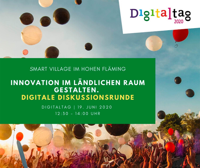 Grafik-Social-Media_Diskussionsrunde-Innovation-im-ländlichen-Raum-gestalten_Smart-Village_Digitaltag