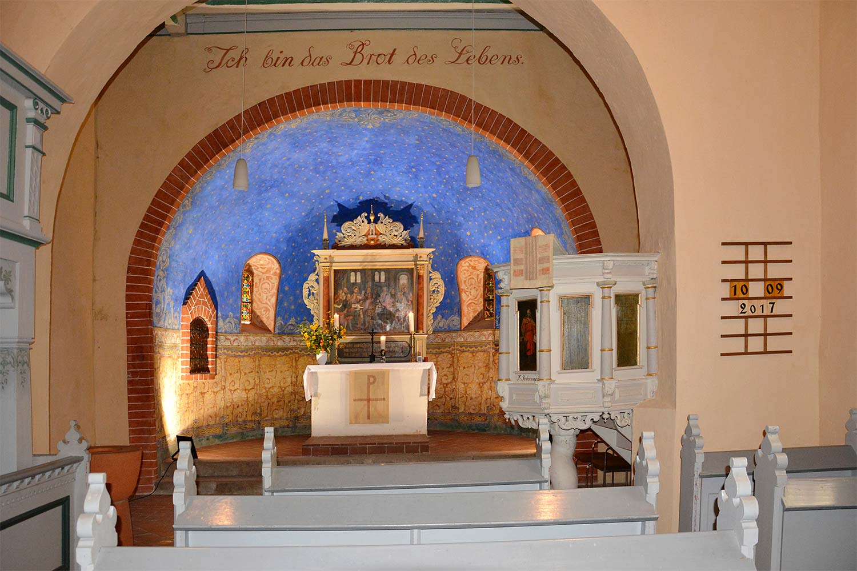 Kirche, Altar, Rädigke