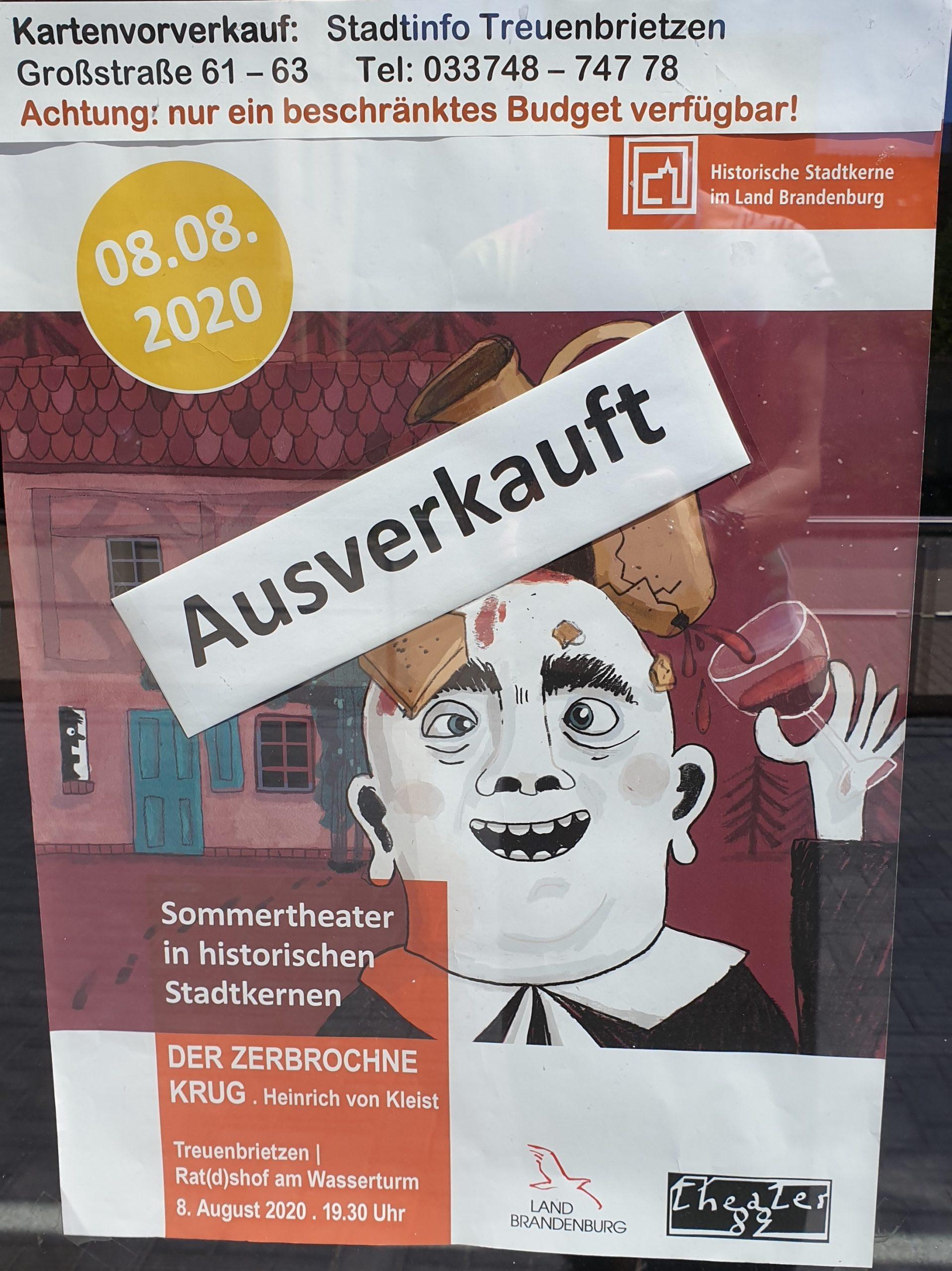 Plakat Sommertheater