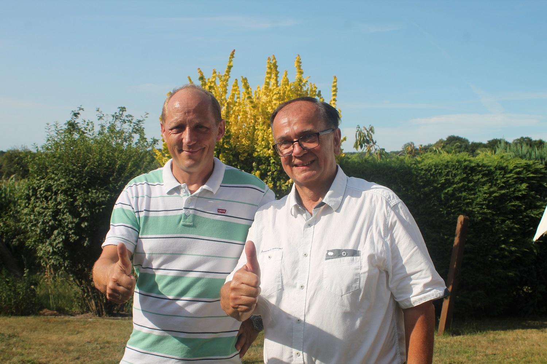 Andy Mielis und Manfred Letz