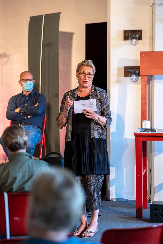 """Gerlinde Kempendorff, """"Die Tote im Wannsee"""", KleinKunstWerk, Bad Belzig"""