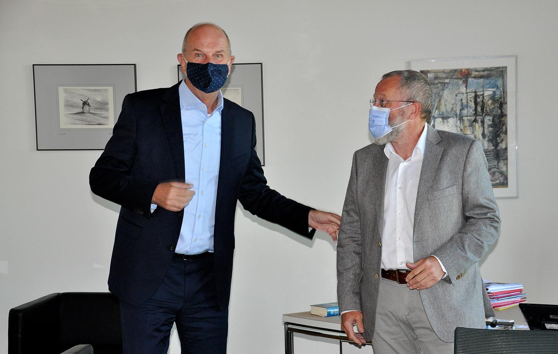 Dietmar Woidke, Wolfgang Blasig