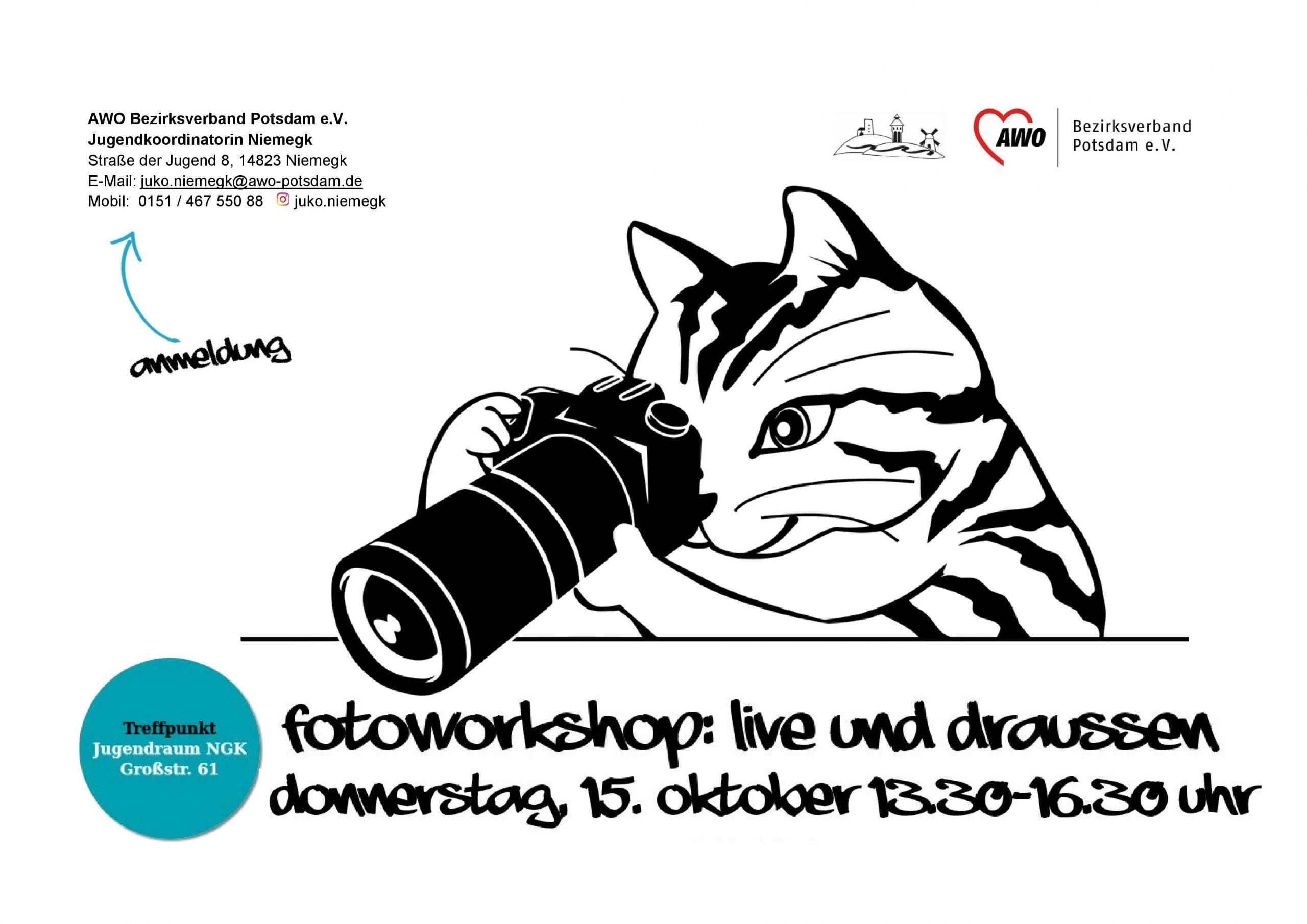 Flyer Fotoworkshop 2020 Okt