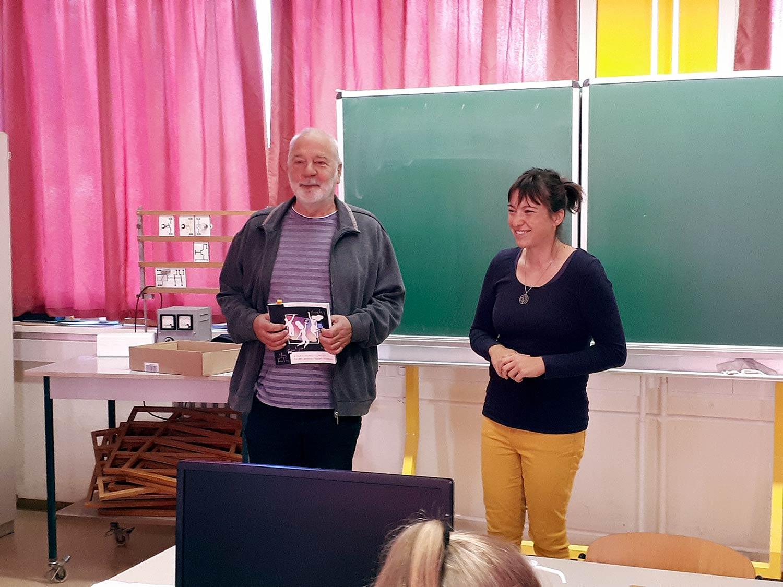 Peter Schenk, Caroline Stallbaum