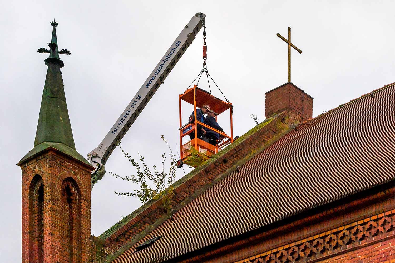 Niemegk, St. Johannis Kirche, Dachdecker Lutsch