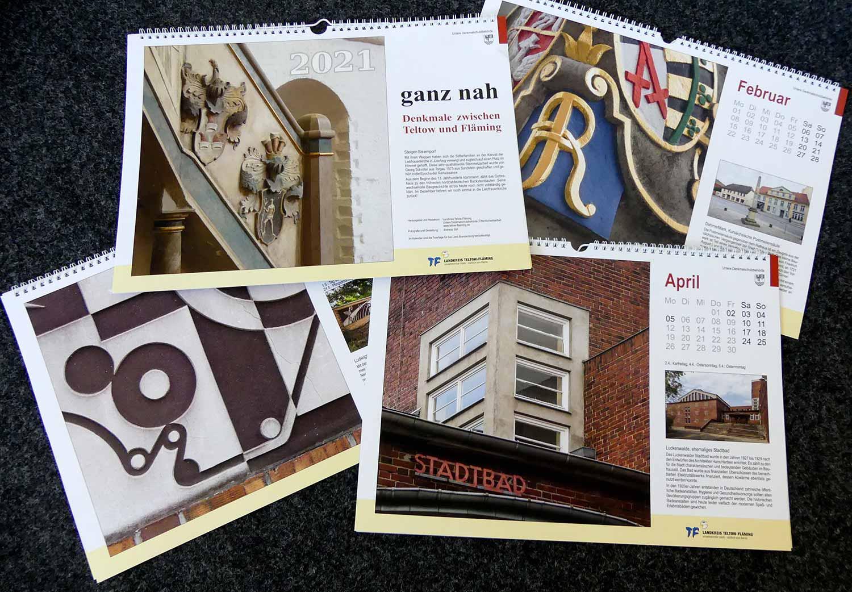 Kalender 2021, Denkmal, Teltow-Fläming