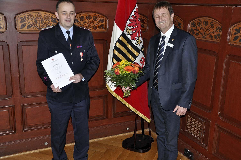 Lars Hagen , Feuerwehr, Ehrenzeichen, Christian Stein