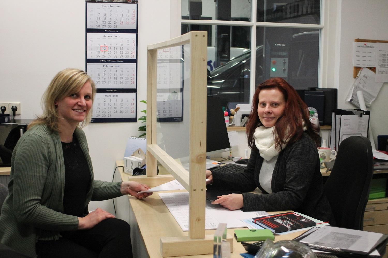 Susanne Tietze links und Bianka Müller-Beckmann